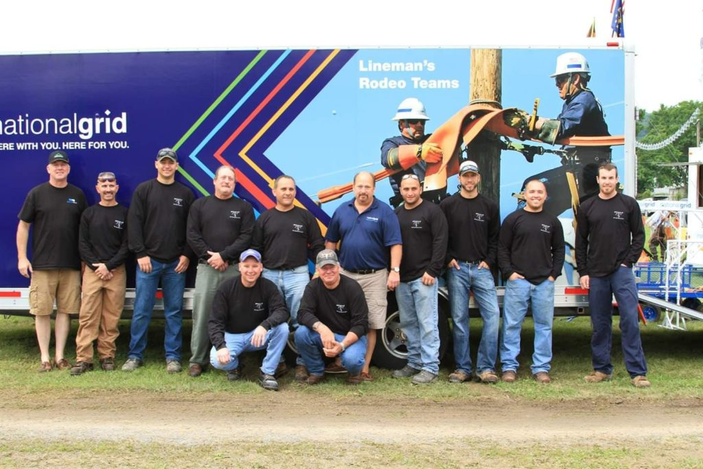 National Grid Rodeo Team 2018