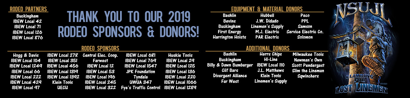 Thank you to our 2019 Sponsors and Donors!