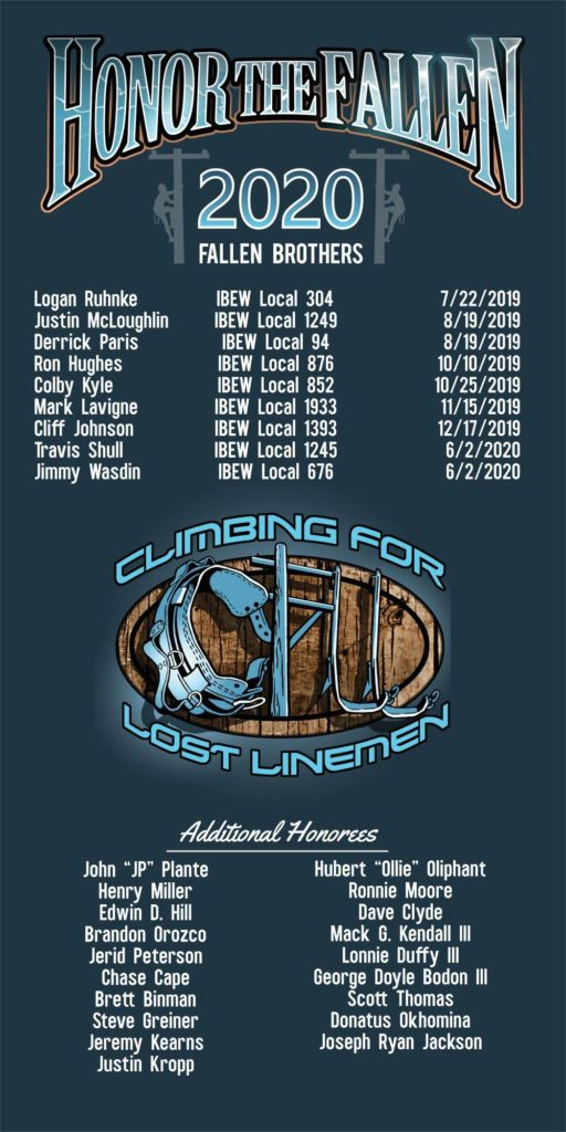 2020 CFLL Fallen Brothers