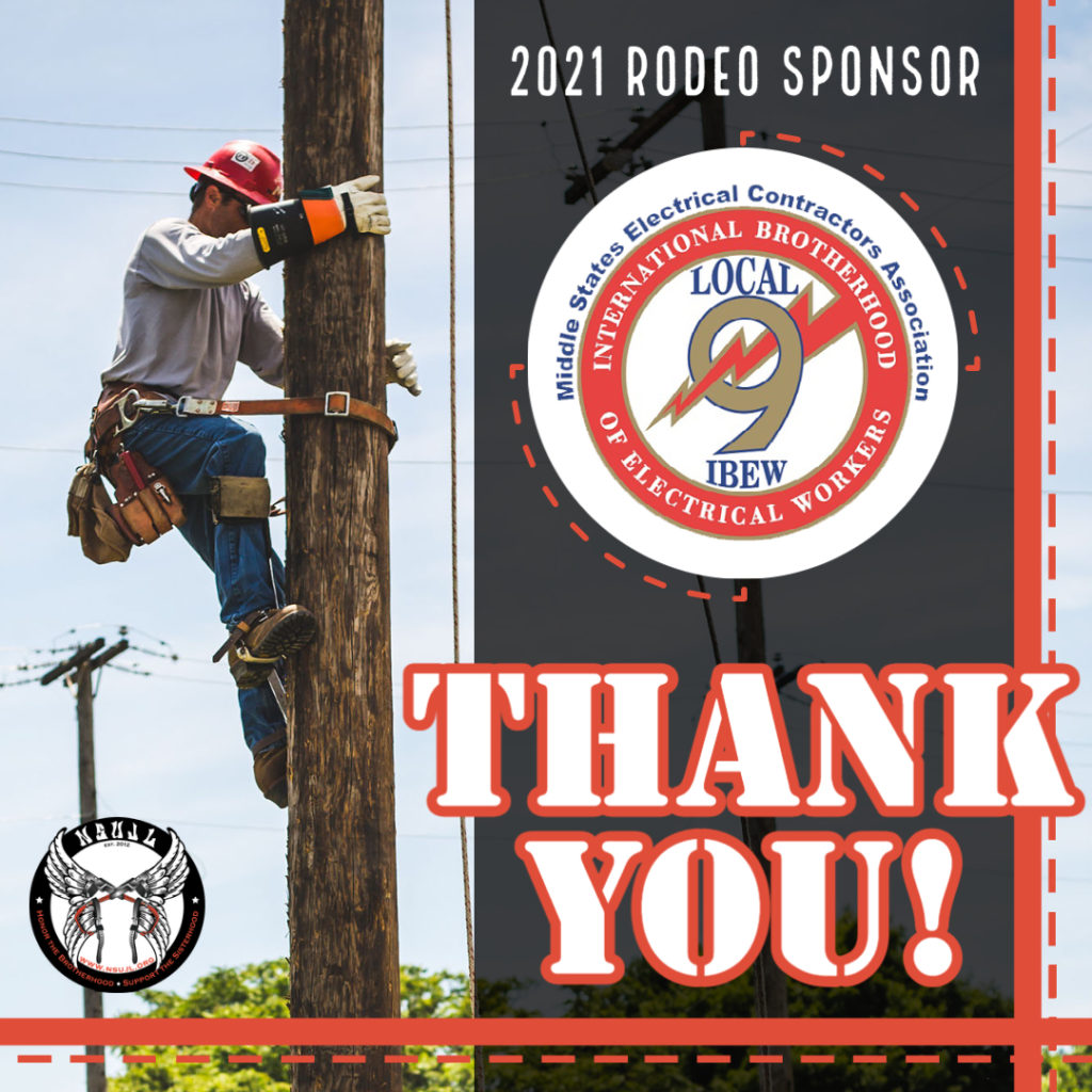 Rodeo Sponsors 2021 - IBEW 9