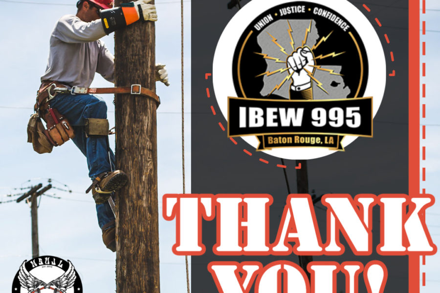 Rodeo Sponsors 2021 - IBEW 995