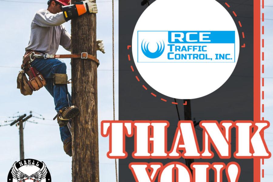 Rodeo Sponsors 2021 - RCE Traffic Cont