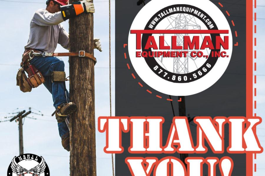 Rodeo Sponsors 2021 - Tallman