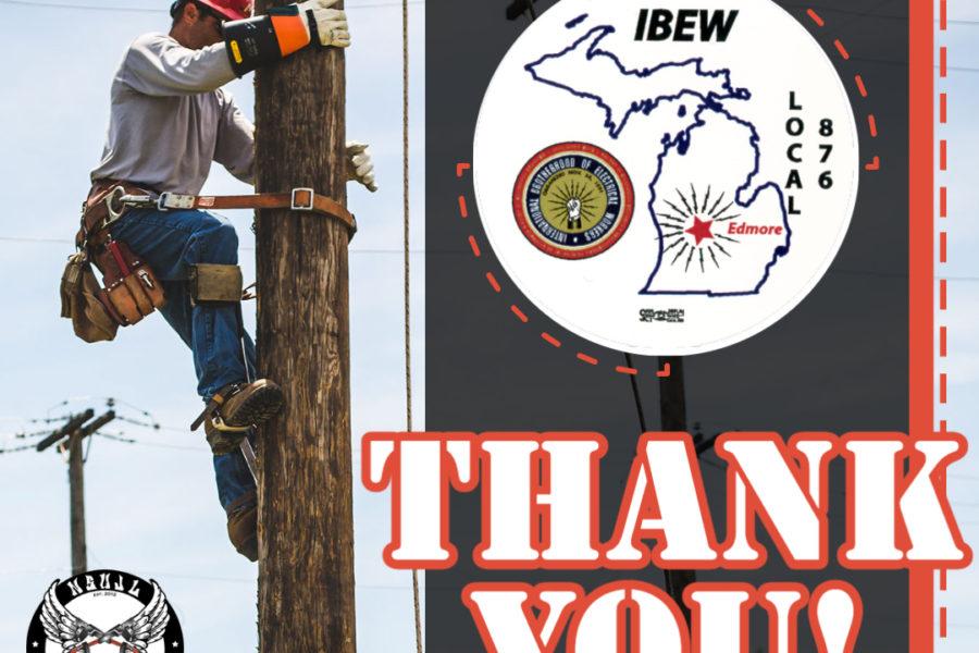 Rodeo Sponsors 2021 - IBEW 876